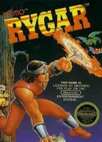 NES cover for Rygar