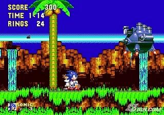 Sonic 3 - Gameplay Screenshot 1