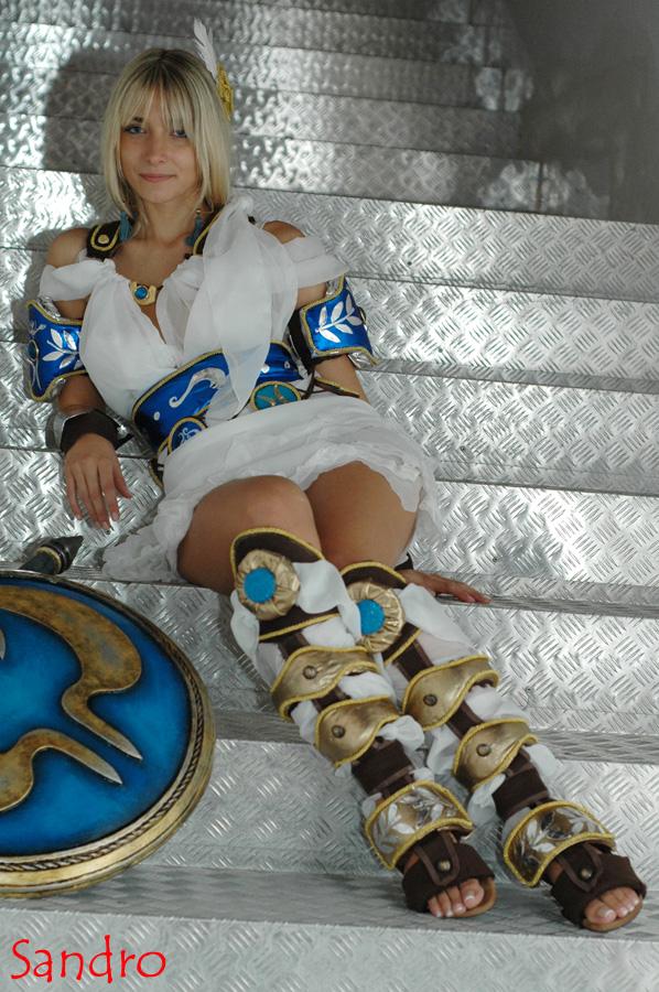 Soul Calibur Sophitia Cosplay girl