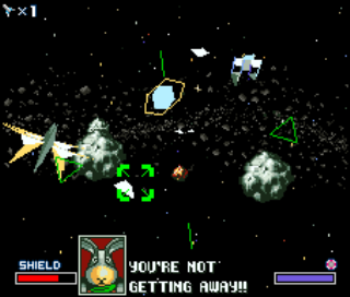 Starfox - SNES - Gameplay Screenshot