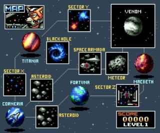 Starfox - SNES - Gameplay Screenshot