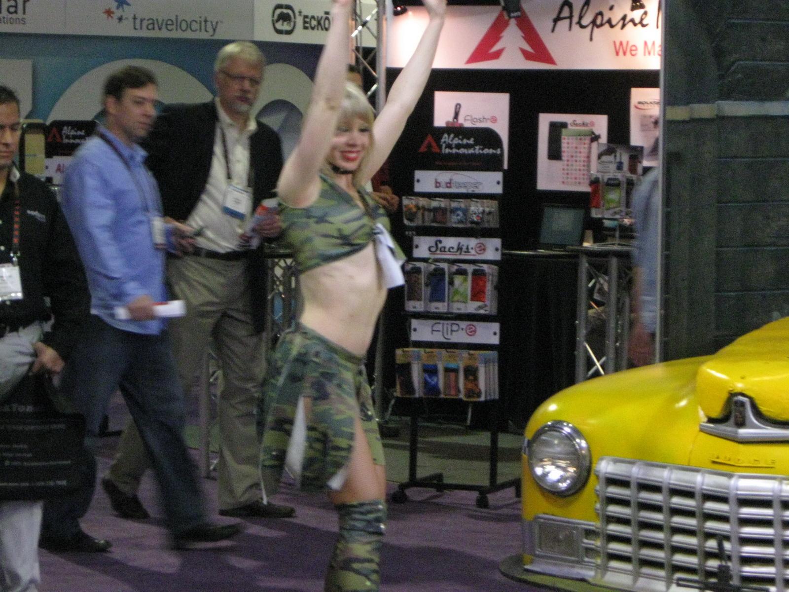 Cab Dancers at CES 2011