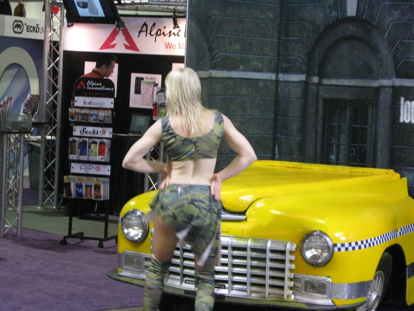 CES 2011 Taxi Cab Dancers