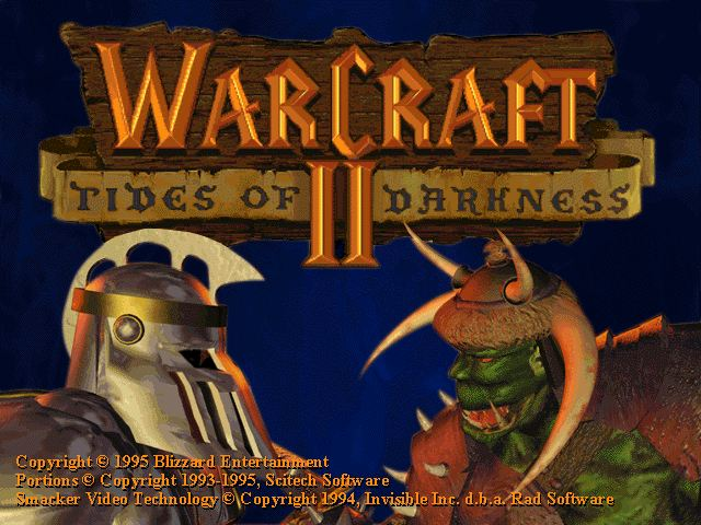 WarCraft 2 Tides of Darkness cover