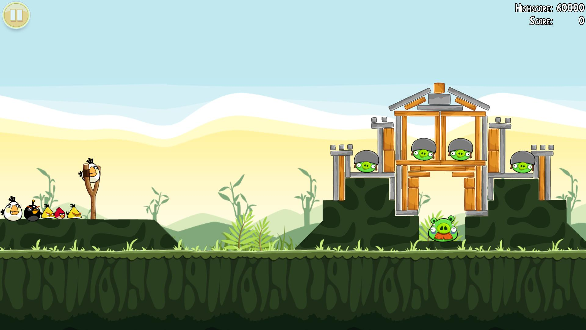 Angry Birds the game