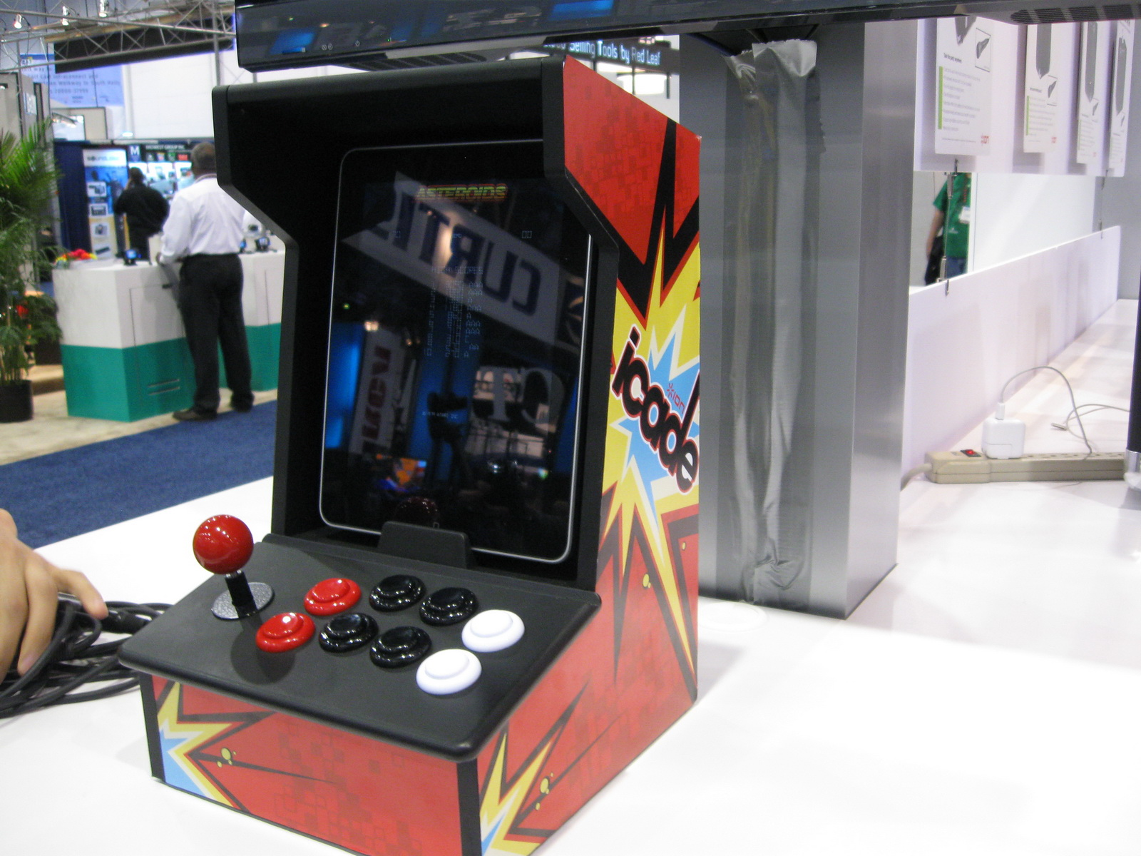 iCADE at CES 2011