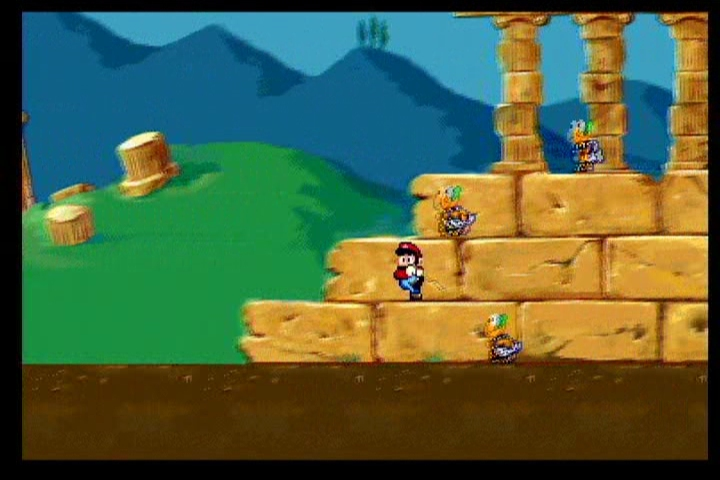 Super Mario's Wacky Worlds ScreenShot 1