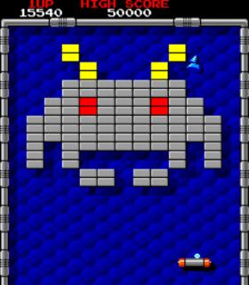 Arkanoid - Arcade - Gameplay Screenshot