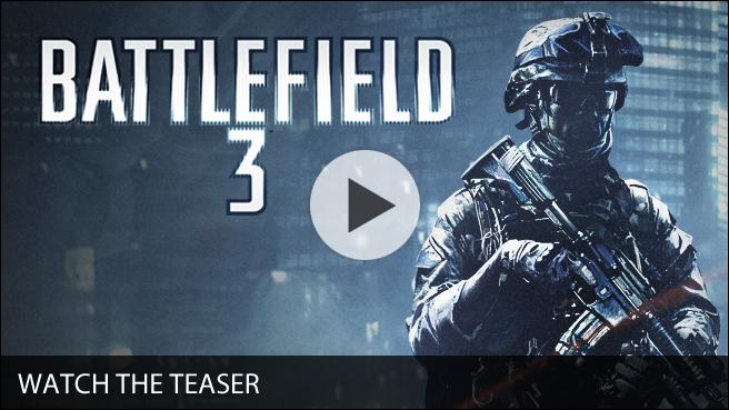Battlefield 3 Teaser Trailer Billboard and Logo