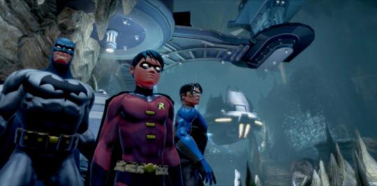 Bat Family DCUO screenshot