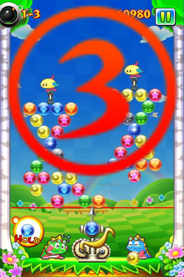 Puzzle Bobble - Bust a Move - Countdown