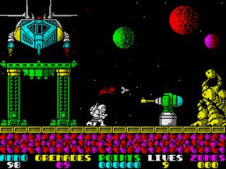 Exolon gameplay screenshot
