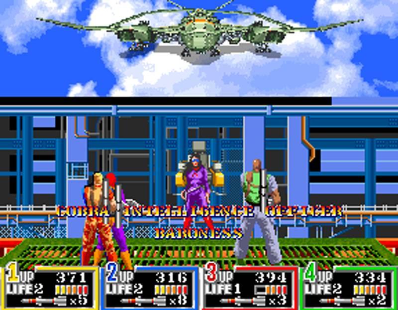 G.I. Joe Arcade Screenshot Baroness