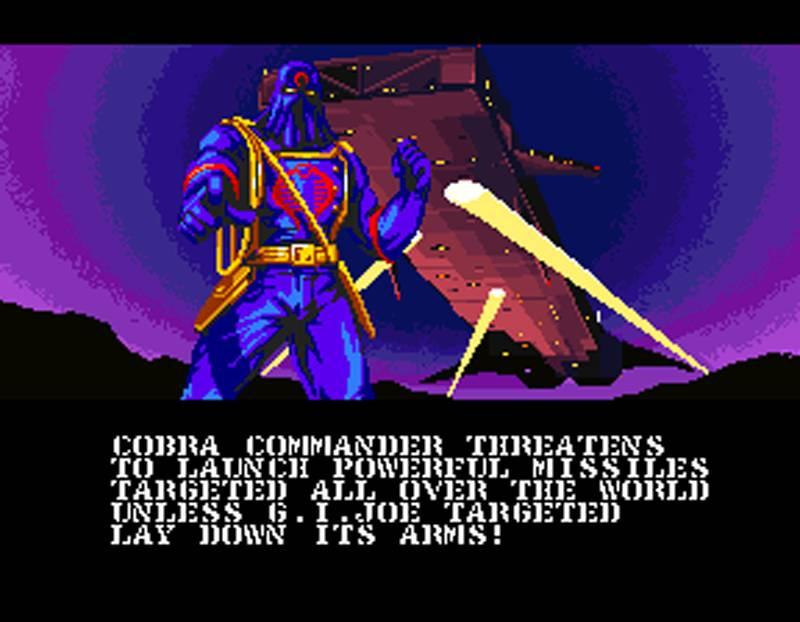 G.I. Joe Arcade Screenshot Cobra