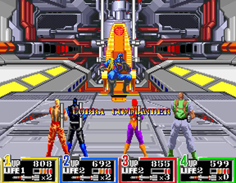 G.I. Joe Arcade Screenshot End Battle