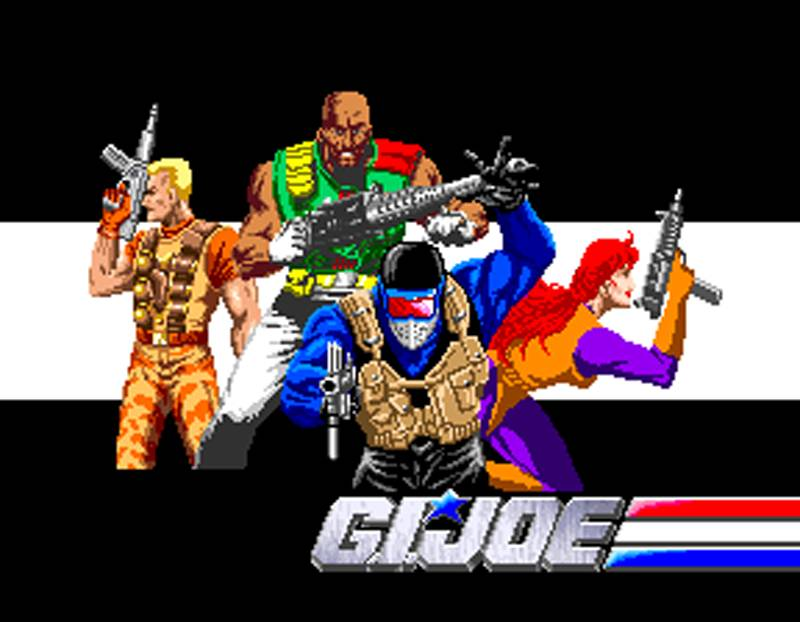 G.I. Joe Arcade Screenshot Mission 2