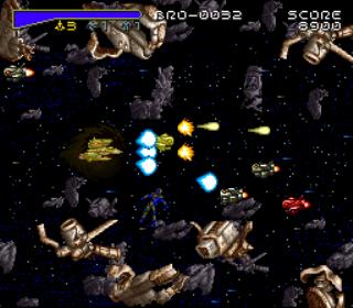 Macross Scrambled Valkyrie - gameplay screenshot