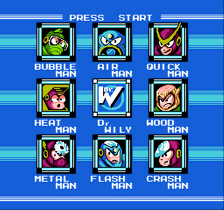MegaMan 2- Gameplay Screenshot