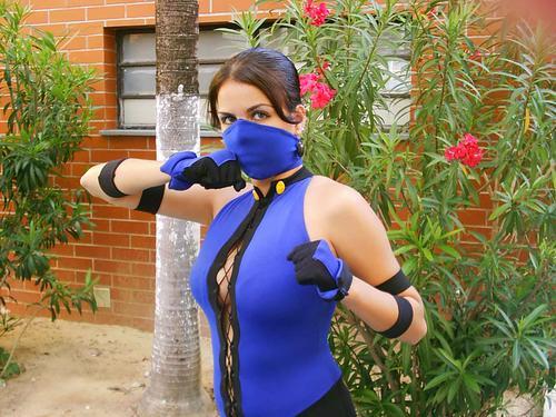 Mortal Kombat Cosplay - Kitana III