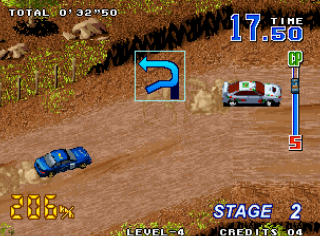 Neo Drift Out - Gameplay Screenshot