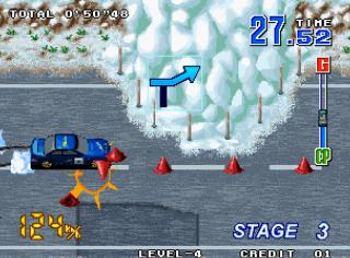 Neo Drift Out - Gameplay Screenshot