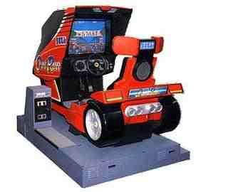 sega outrun arcade machine