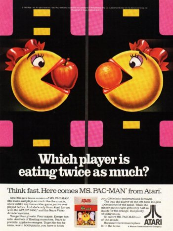 Pac Man Atari ad II