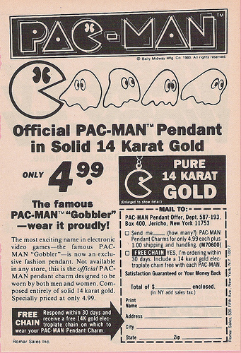 Pac Man Pendant
