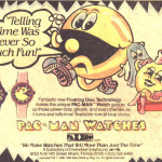 Pac Man Watch ad