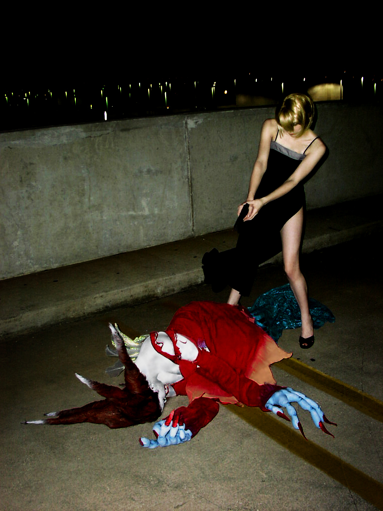 Parasite Eve Cosplay - Aye takes out Eve
