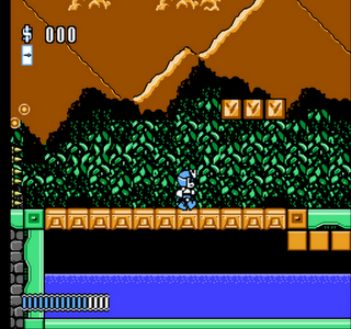 Rocman X Gameplay Screenshot