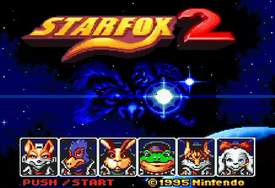 Star Fox 2 - Select Screen