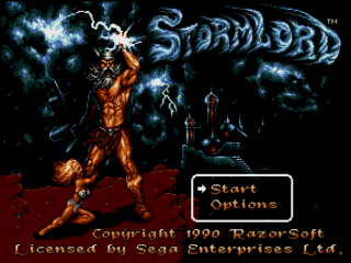 Stormlord - Arcade - Gameplay Screenshot