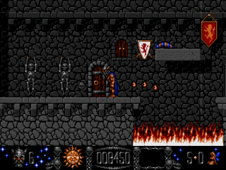 Stormlord - Arcade - Gameplay Screenshot