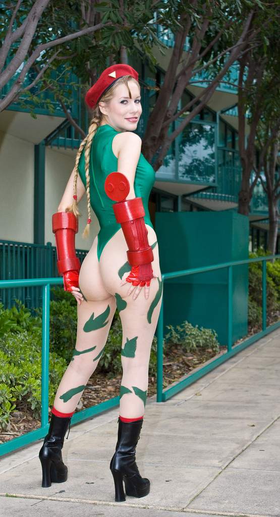 Street Fighter Cosplay - Cammy Cosplay 1