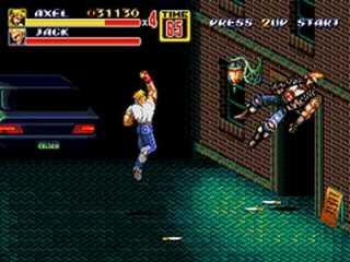 Streets of Rage 2 – Mega Drive