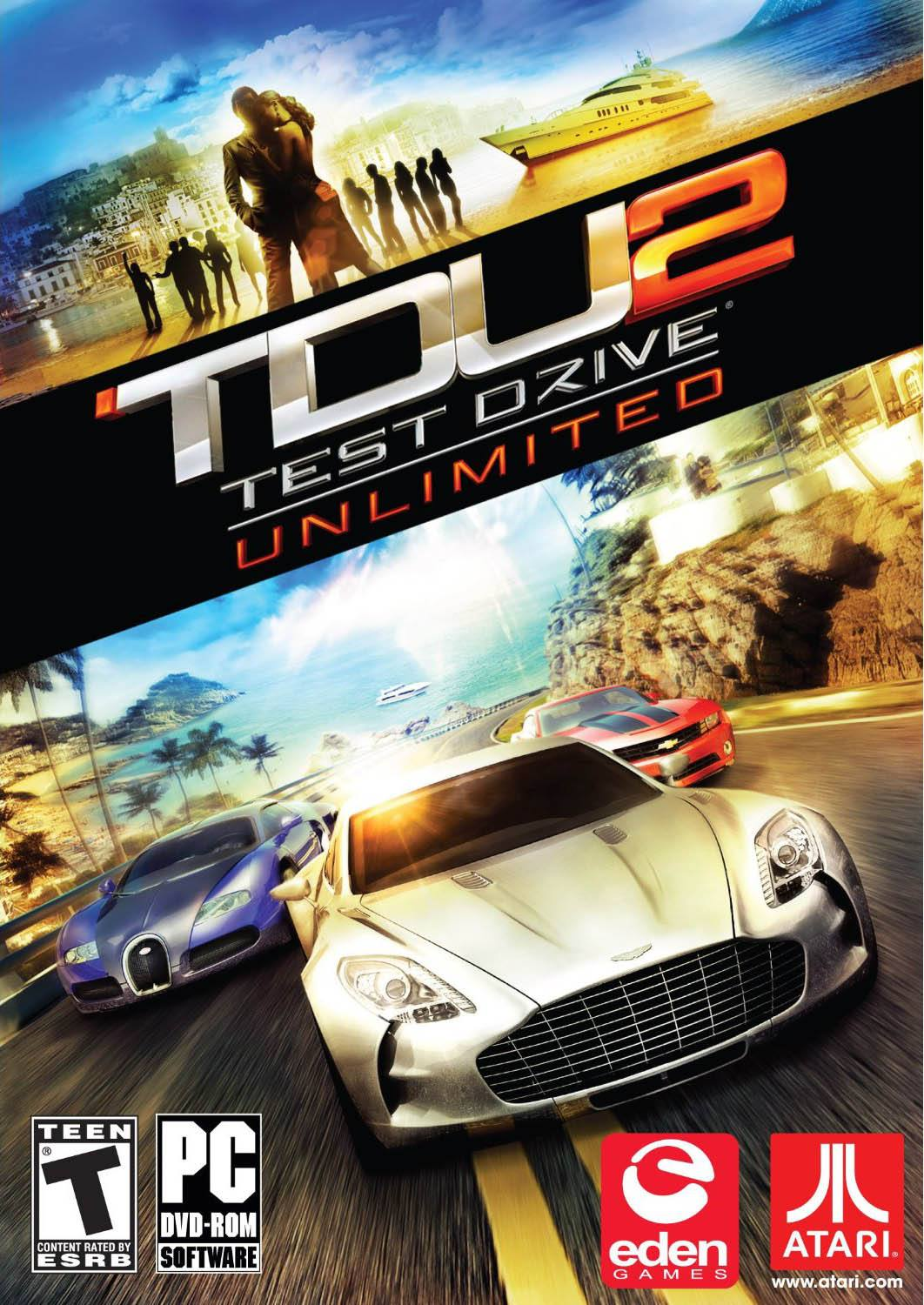 Test Drive Unlimited 2 Box