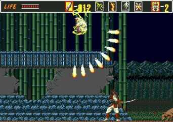 The Revenge of Shinobi Mega Drive