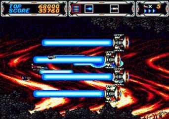 Thunder Force 3 Mega Drive