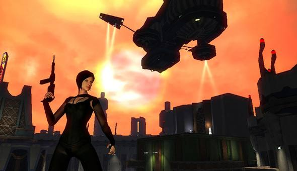 Unreleased - Æon Flux - In Game Screenshot