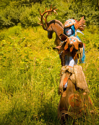 world of warcraft night elf druid. World of Warcraft Cosplay