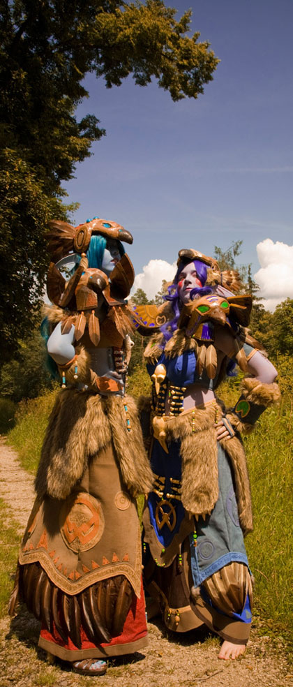 world of warcraft night elf girl. World of Warcraft Cosplay