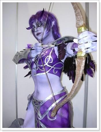 World of Warcraft Cosplay - Night Elf II