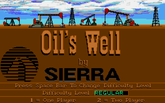 oil's well - sierra - gameplay screenshot
