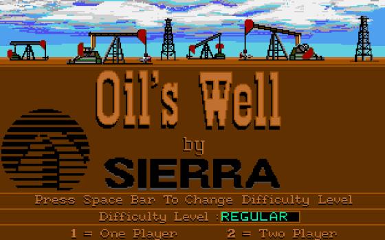 oil's well - sierra - gameplay screenshot
