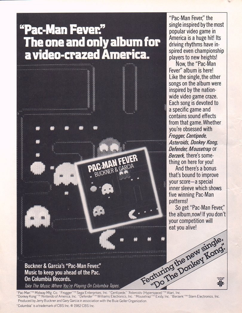 Pac Man Fever Album