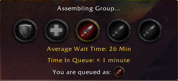 World of Warcraft Dungeon Queue Time