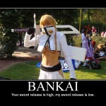 Bankai Bleach Motivational Poster