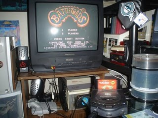 Battletoads on a Sega CD