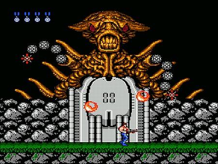 Contra Gameplay Screenshot